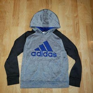 Adidas Boys MD 10/12 Pullover Hoodie